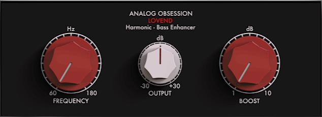 低音增强 Analog Obsession LOVEND v2.0