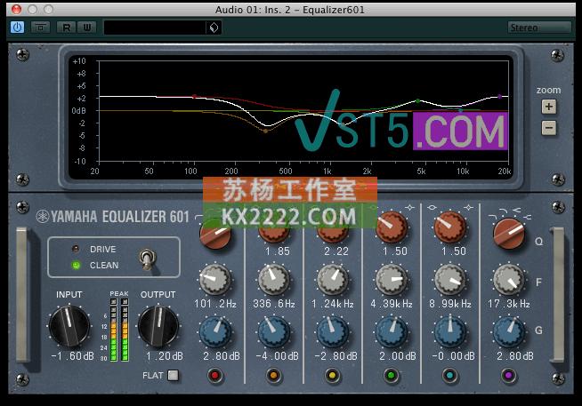 Yamaha Vintage Channel Strip v1.2.6-V.R 雅马哈通道条插件插图