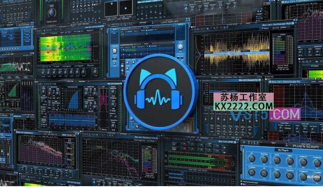 Blue Cat's All Plug-Ins Pack 2020.11 CE-V.R 蓝猫插件插图