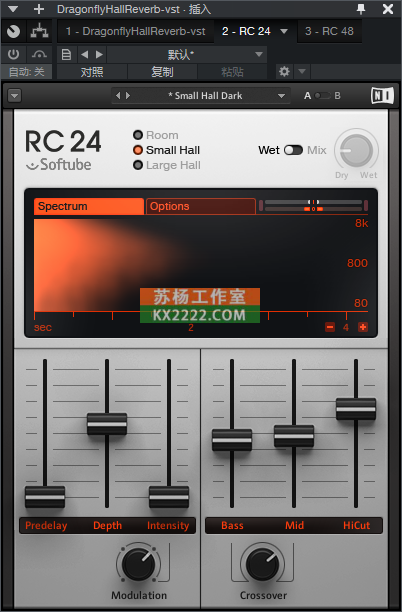 混响 Native.Instruments.Reverb.Classics.v1.4.0