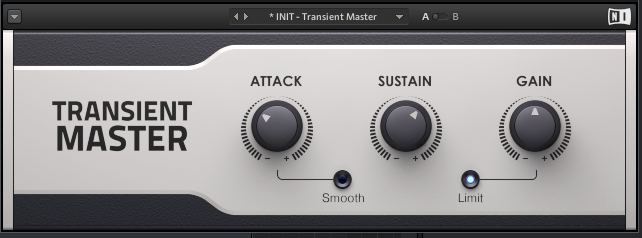 激励 Native.Instruments.Transient.Master.FX.v1.4.0