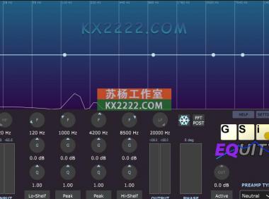 均衡器 Genuine Soundware EQuity v1.0.0
