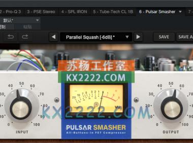 压缩器 Pulsar Audio Smasher v1.0.3