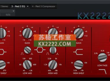 套装 Focusrite Red Plug-In Suite 1.1