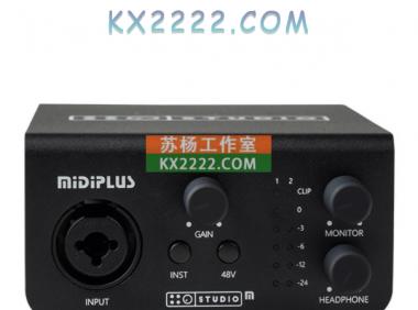 Midiplus Studio M Pro声卡驱动