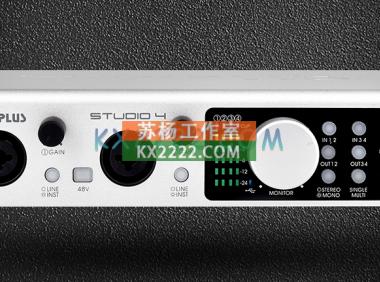 MIDIPLUS STUDIO-4声卡驱动
