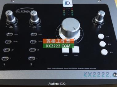 Audient iD22声卡驱动