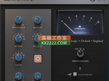 压缩器 SSL Native Bus Compressor 2
