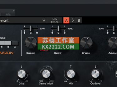 立体声扩展 Overloud.Gem.Mod.v1.0.0