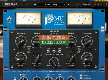 压缩器 Pulsar.Audio.Mu.v1.2.1