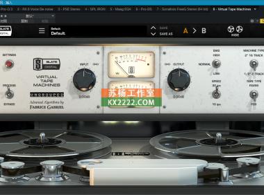 板岩磁带机 Slate.Digital.Virtual.Tape.Machine.v1.1.17.2